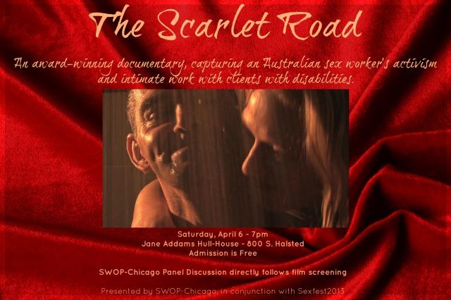Scarlet Road Flyer - V1